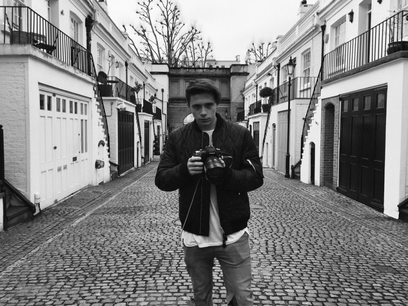Brooklyn Beckham Is Burberry\'s New Photographer