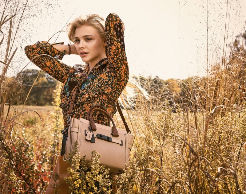Chloe Grace Moretz stars in Coach\'s Spring 2016 Campaign