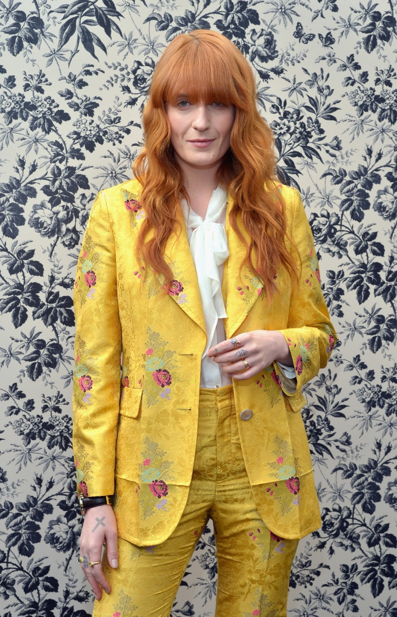 Florence Welch is the new face of Gucci Timepieces and Jewelry