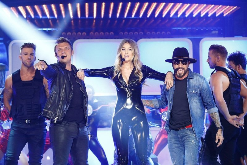 Gigi Hadid Lip Sync Battles With The Backstreet Boys