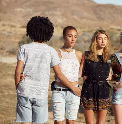 Hailey Baldwin Stars In H&M Coachella collection 2016