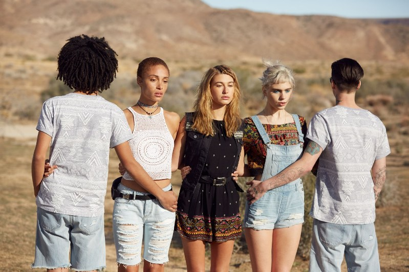 Hailey Baldwin Stars In H&M Coachella collection 2016