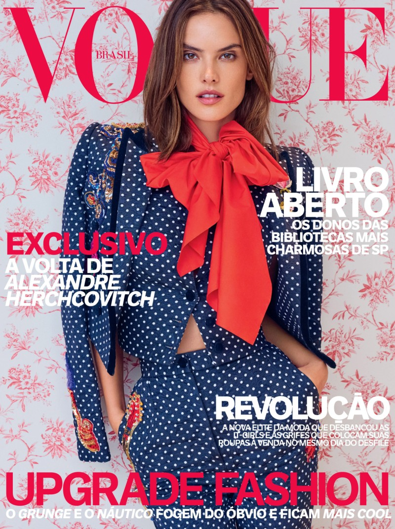 Alessandra Ambrosio Covers Vogue Brazil\'s April 2016 Issue