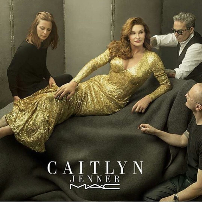 Caitlyn Jenner teams up with MAC Cosmetics