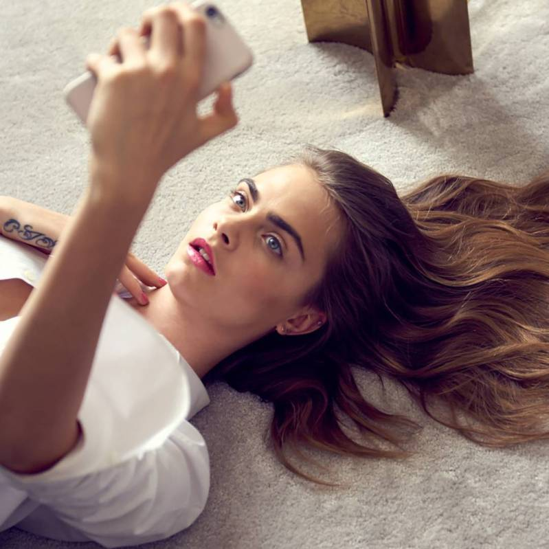Cara Delevingne fronts YSL Beauty Campaign
