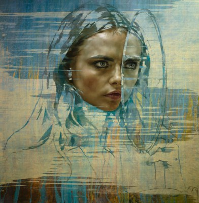 Cara Delevingne\'s portraits by Jonathan Yeo goes on exhibition