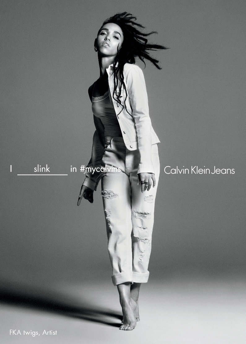 FKA twigs directs for Calvin Klein Jeans