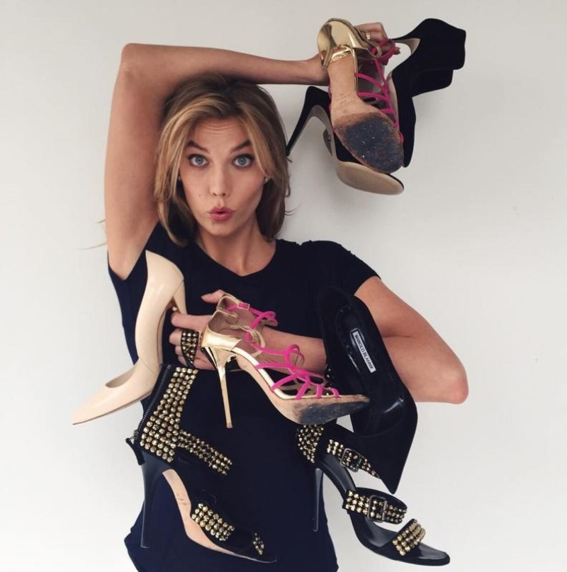 Karlie Kloss collaborates with Nordstrom for college project