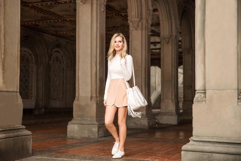Lottie Moss stars in Botkier Spring 2016 Campaign