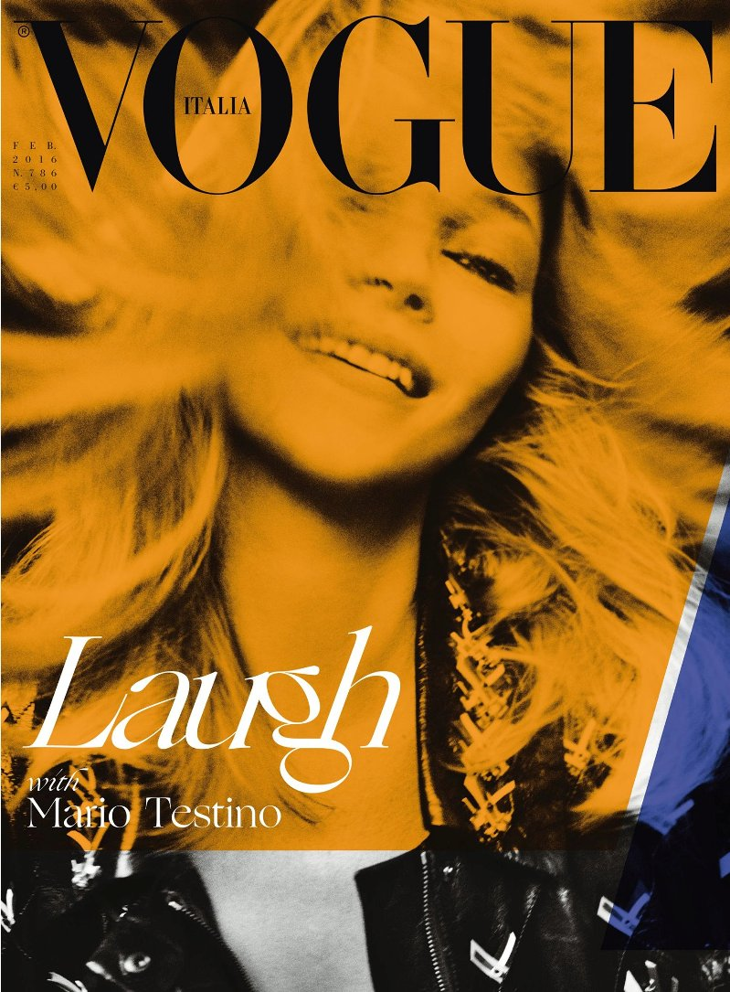 Kate Moss is an ode to joy in Vogue Italia\'s February issue