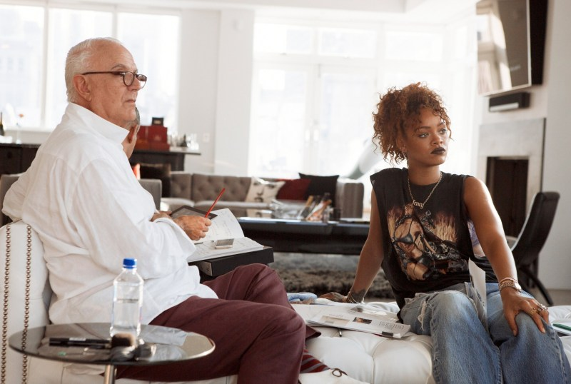 Rihanna & Manolo Blahnik Team Up For Shoe Collection