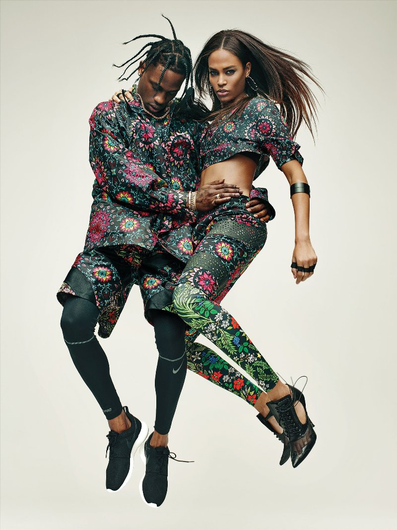 Joan Smalls, Travis Scott Star In Riccardo Tisci\'s NikeLab Collaboration
