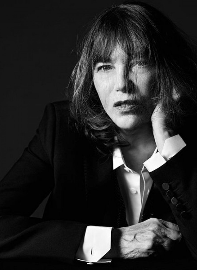 Jane Birkin Returns To Modelling Just For Saint Laurent
