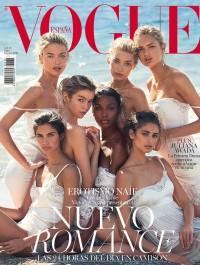 Seven Victoria\'s Secret Models cover Spanish Vogue