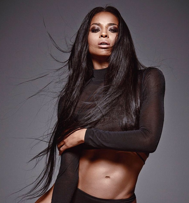Ciara lands modeling deal with IMG