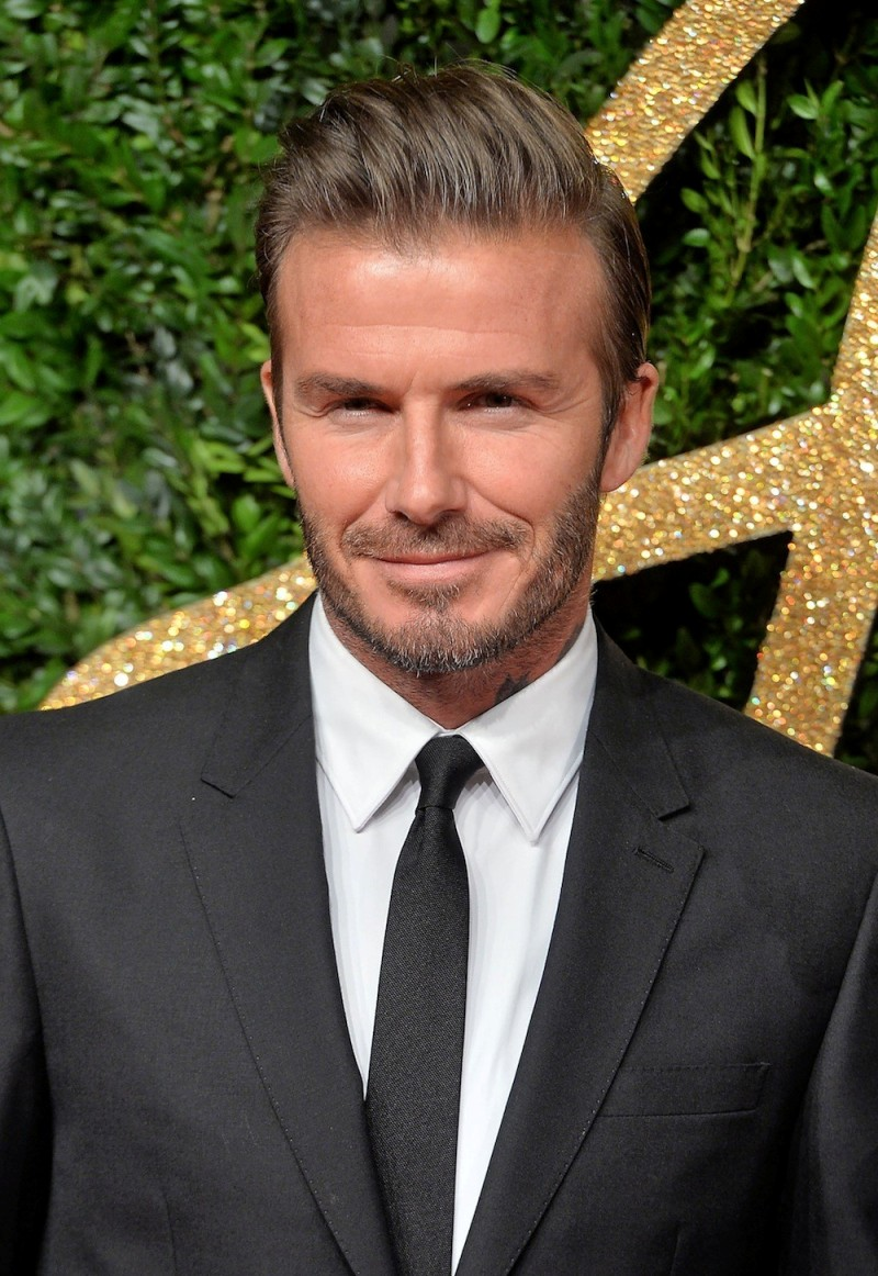 David Beckham Is Launching His Own Skincare Line