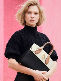 Louis Vuitton Debuts First Campaign With Lea Seydoux