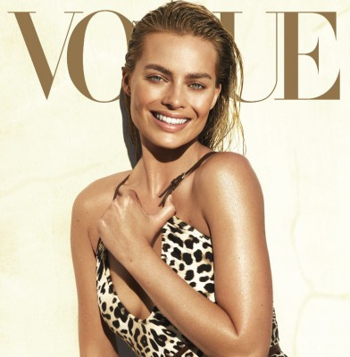 Margot Robbie Sizzles on the cover of US Vogue