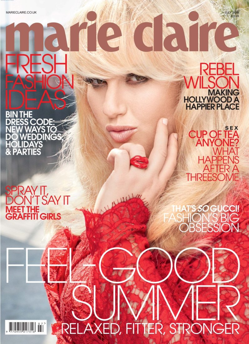 Rebel Wilson is Marie Claire\'s July cover star