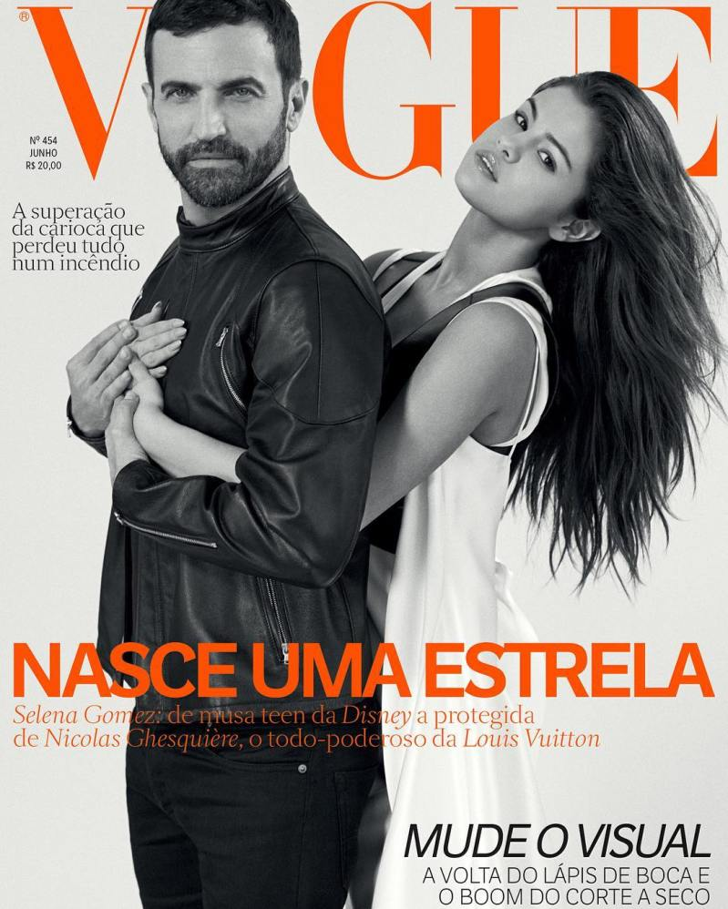 Selena Gomez lands Vogue Brasil Cover with Nicolas Ghesquiere