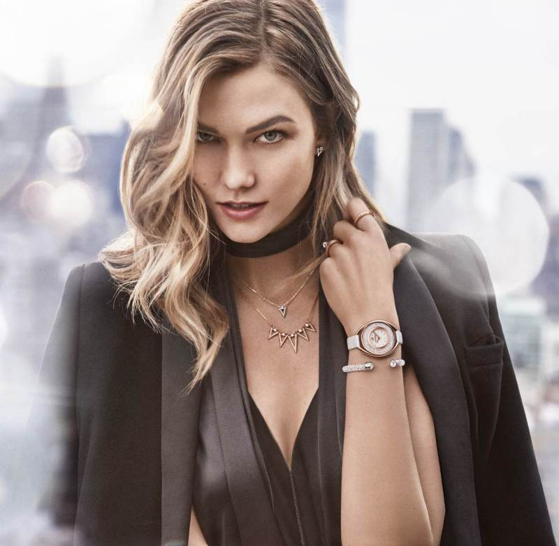 Karlie Kloss is the new face of Swarovski