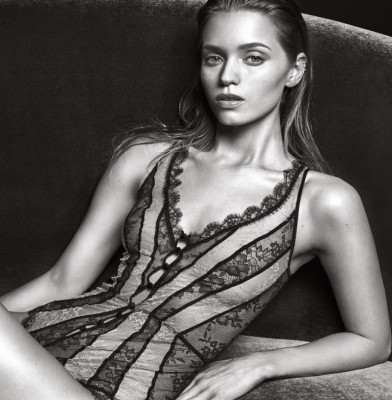 Abbey Lee Kershaw sizzles in Agent Provocateur\'s fall campaign