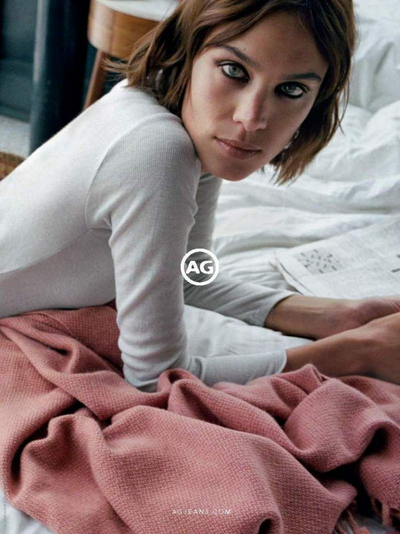 Alexa Chung Fronts AG Jeans\' FW16 Ad Campaign