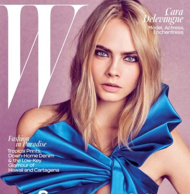 Cara Delevingne Graces W Magazine\'s Summer Issue