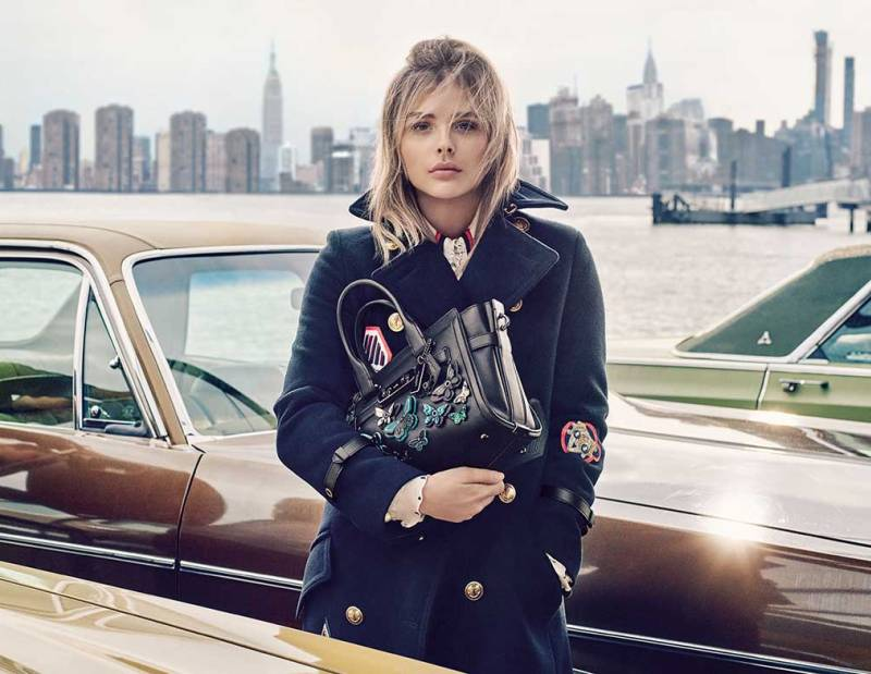 Chloe Grace Moretz is the face of Coach\'s Spring 2016 Campaign