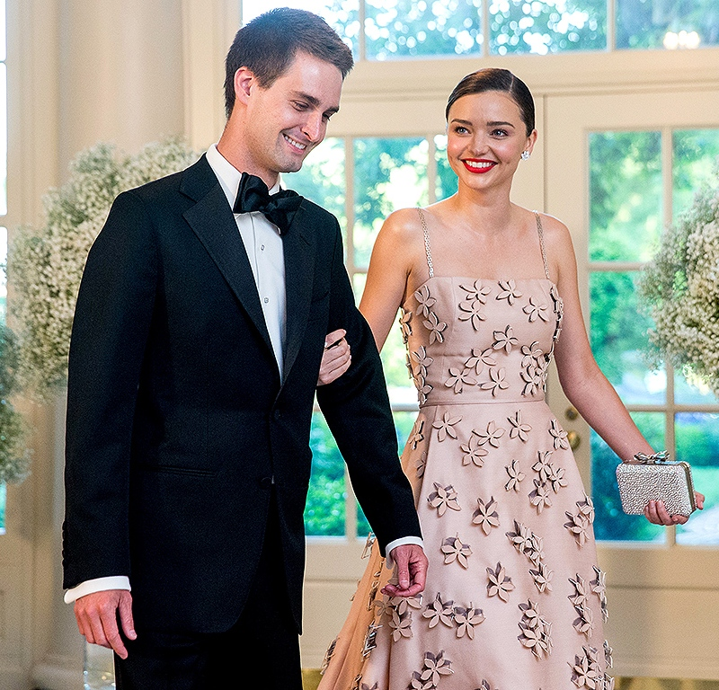 Miranda Kerr Is Engaged to Evan Spiegel