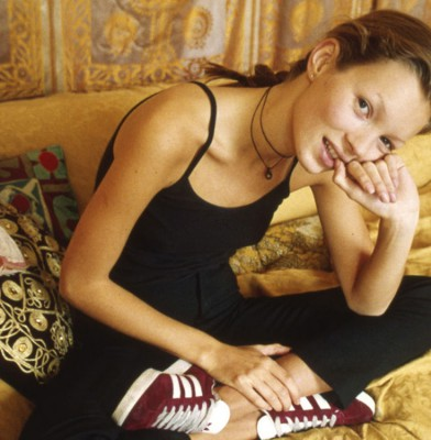 Adidas remixes Kate Moss campaign from 1993