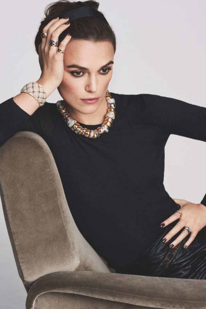 Keira Knightley Is the New Face of Chanel Jewellery