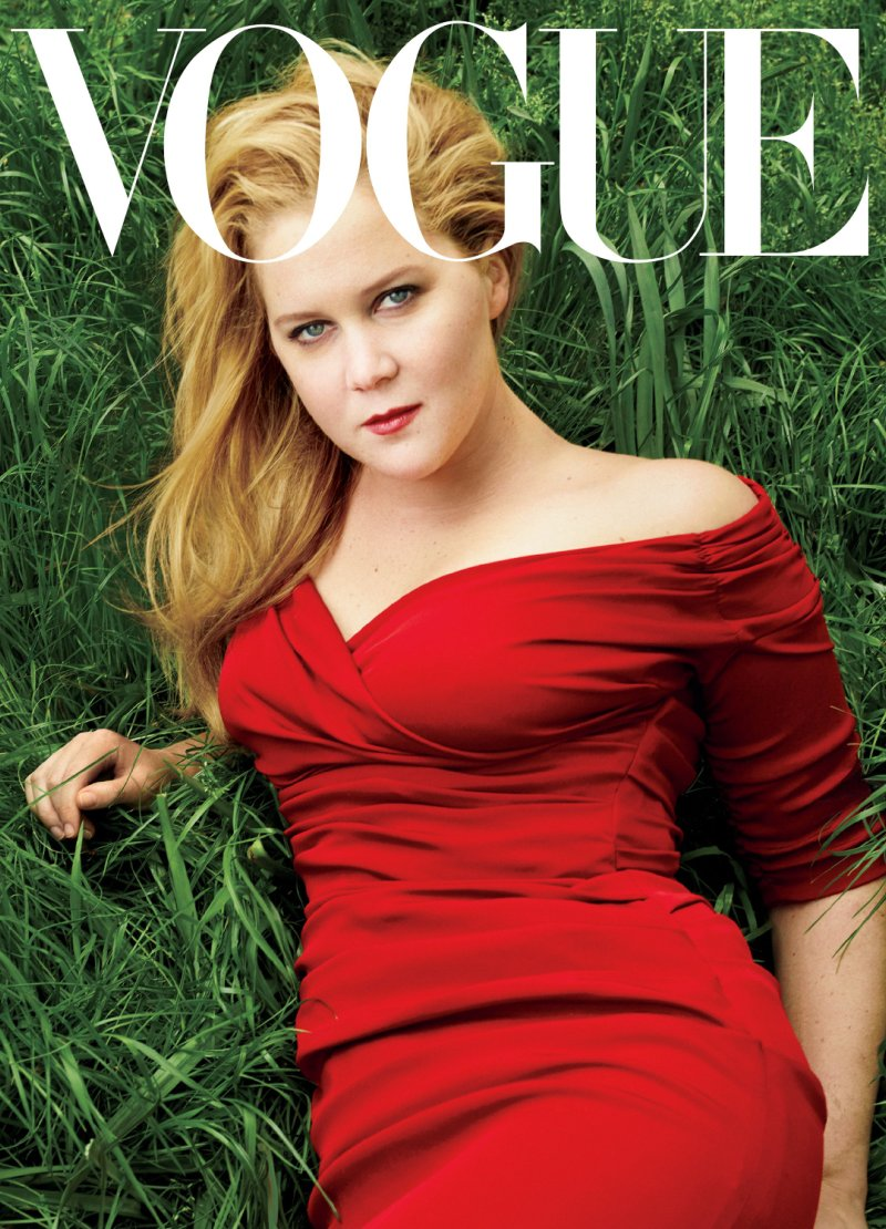 Amy Schumer lands first Vogue cover