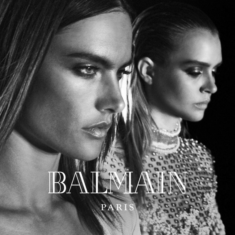 Balmain unveils Star Studded Fall 2016 Campaign
