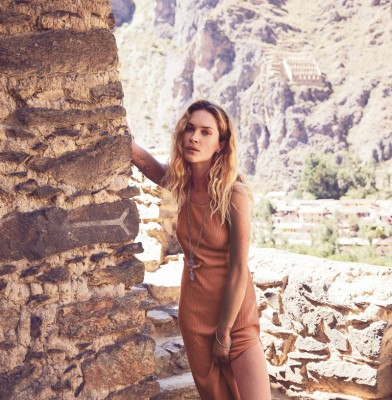 Erin Wasson fronts Free People\'s August catalog
