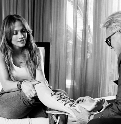 Jennifer Lopez collaborates with Giuseppe Zanotti On A Shoe Collection