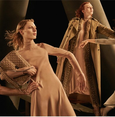 Karen Elson fronts Valentino\'s fall/winter 2016 campaign