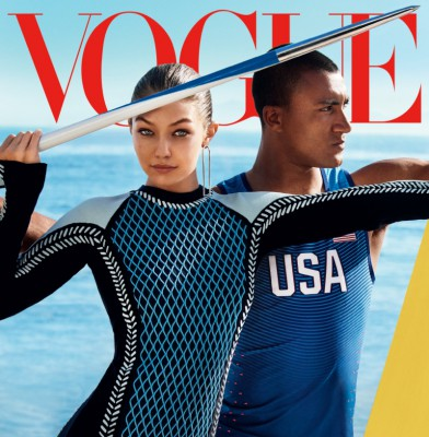 Gigi Hadid lands her first American Vogue cover