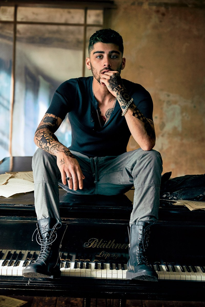 Zayn Malik Announces Collaboration With Giuseppe Zanotti