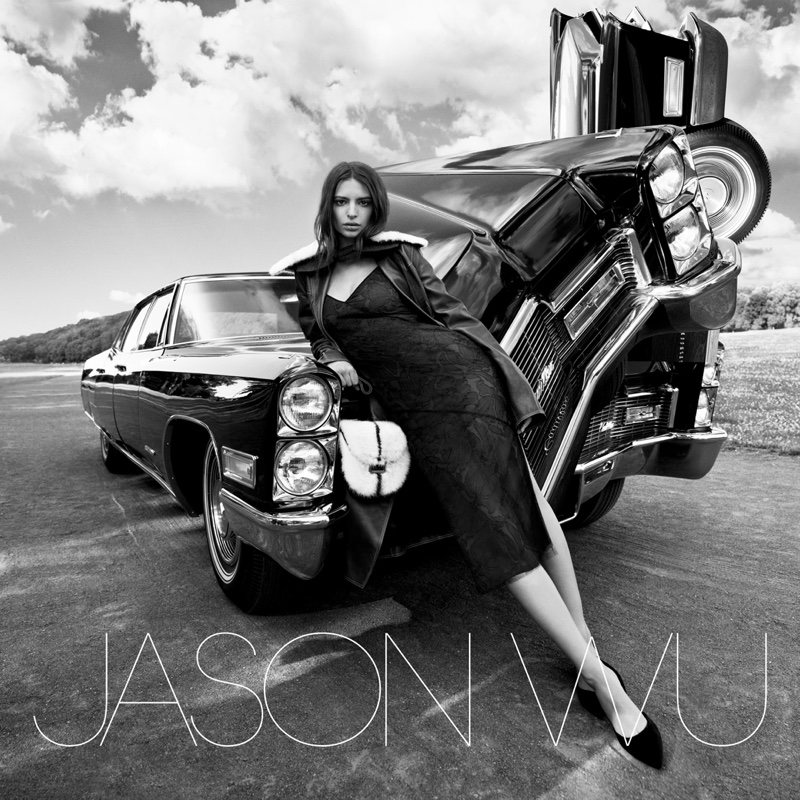 Emily Ratajkowski stars in Jason Wu F/W campaign