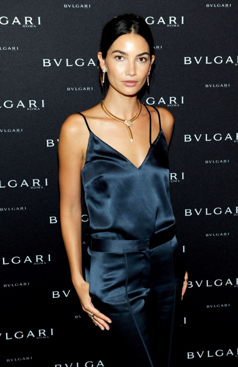 Lily Aldridge is the new face of Bulgari