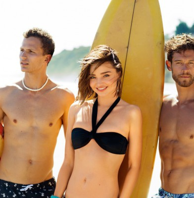 Miranda Kerr Is The New Face Of Bonds Swim