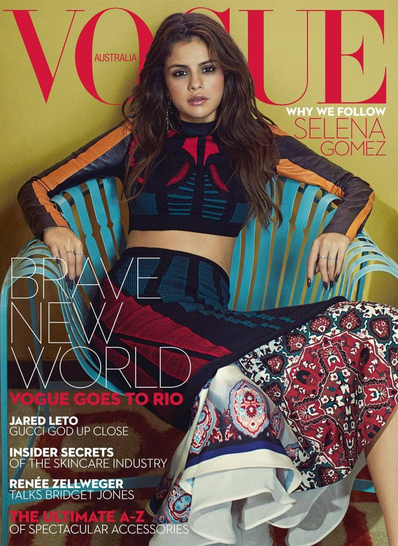 Selena Gomez Lands Vogue Australia\'s September Cover