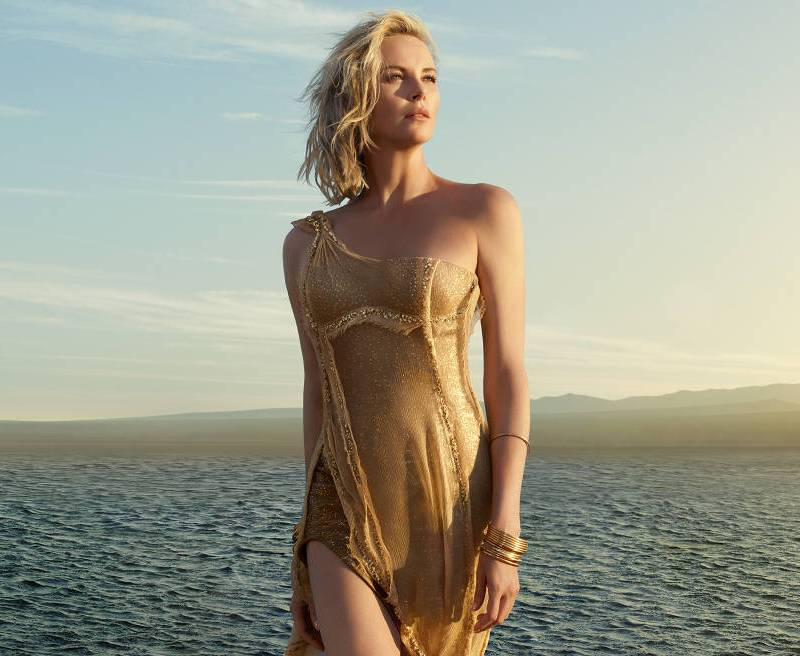 Charlize Theron stars in new campaign for J\'adore Dior