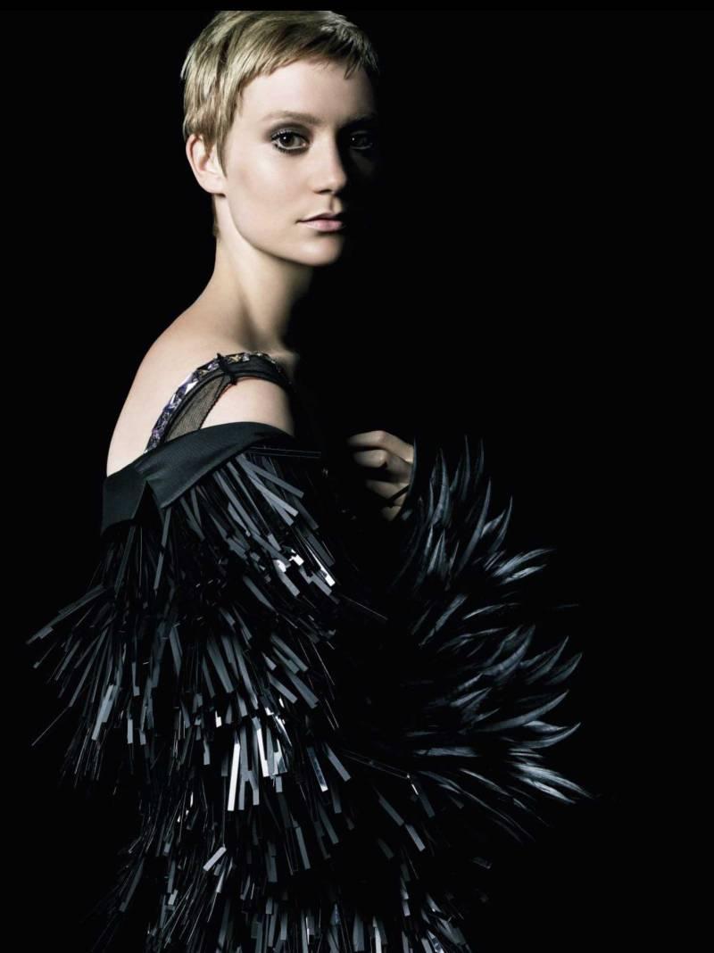 Mia Wasikowska and Mia Goth front Prada Perfume campaign