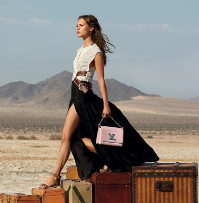 Alicia Vikander Fronts Louis Vuitton\'s \'Spirit of Travel\' Campaign