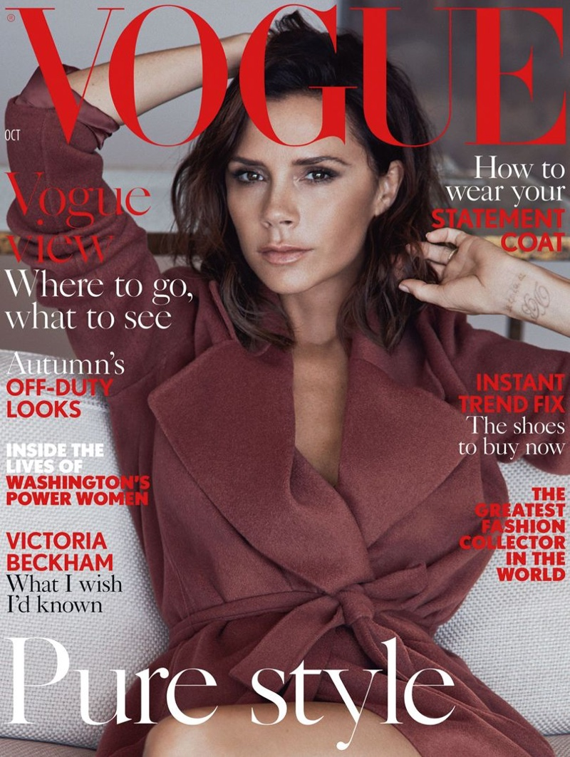Victoria Beckham Is British Vogue\'s October cover star