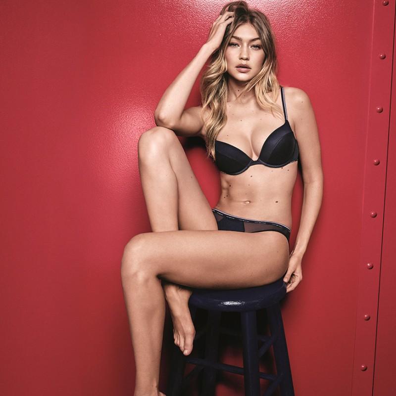 Gigi Hadid stars in Tommy Hilfiger Fall Underwear Campaign