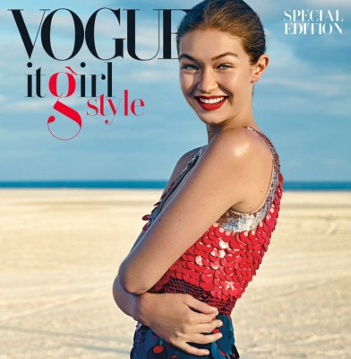 Gigi Hadid is Cover girl of Vogue\'s Special Issue