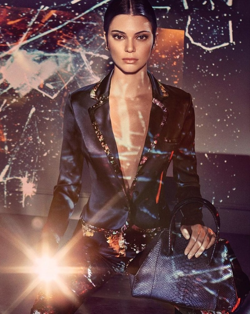 Kendall Jenner Featured in Lingerie Campaign for La Perla